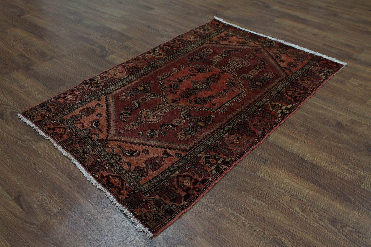 What Size Should Foyer Rug Be : Foyer size tribal semi antique hamedan persian rug