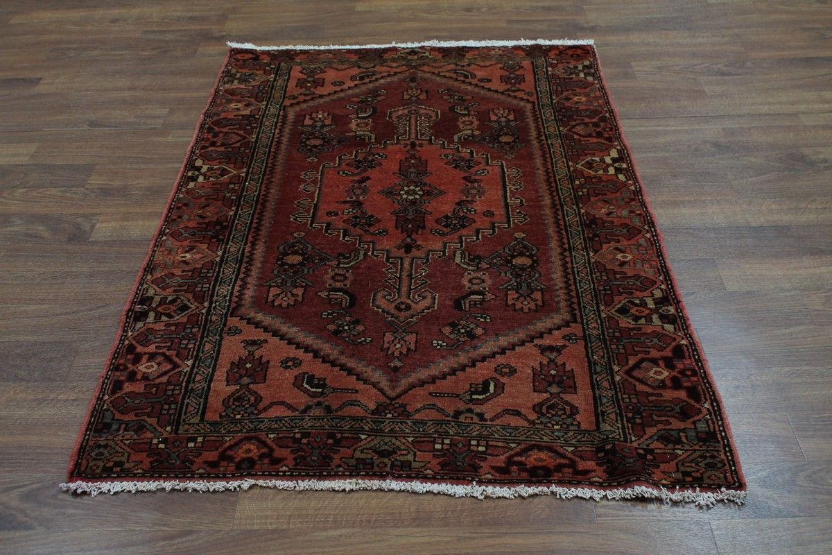 Foyer Rug Size : Foyer size tribal semi antique hamedan persian rug